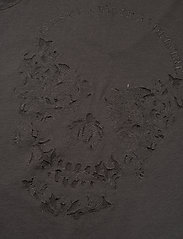 Zadig & Voltaire - STORY FISHNET V-NECK COTTON T-SHIRT - t-shirts - carbon - 3