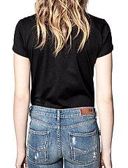 Zadig & Voltaire - ZOE PHOTOPRINT PRINTED T-SHIRT - t-shirts - black - 4