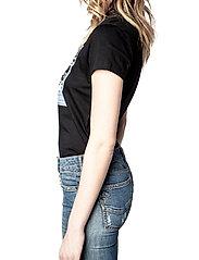 Zadig & Voltaire - ZOE PHOTOPRINT PRINTED T-SHIRT - t-shirts - black - 5