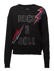 Zadig  &  Voltaire - Kansas Bis M Pull Merinos Intarsia Rock Roll