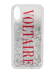voltaire glitter iphone case - CLEAR