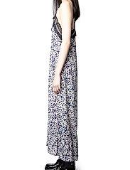 Zadig & Voltaire - REVEL CDC PRINT BEGONIA DRESS - sommerkjoler - bleu de chine - 5