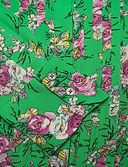 Zadig & Voltaire - ROUGI PRINT ROSES ROBE - midi kjoler - green - 3