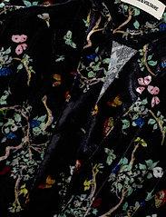 Zadig & Voltaire - REVEAL VELVET BLOSSOM DRESS - festkjoler - black - 2