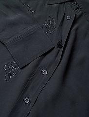 Zadig & Voltaire - TAMARA STRASS SHIRT - langærmede skjorter - navy blue - 2