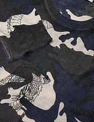 Zadig & Voltaire - KENNEDY CP AO CAMOU DRAGON PULL PRINT ALLOVER - rund hals - navy blue - 2