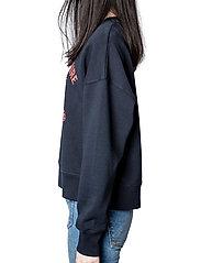 Zadig & Voltaire - CHAMP BLASON PRINTED CO/ MODAL SWEATSHIRT - sweatshirts & hættetrøjer - encre - 5