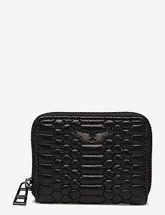 mini zv mat wallet - BLACK