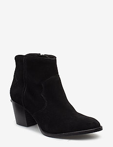 molly suede shoes - BLACK