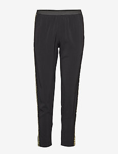 paula band pantalon - BLACK