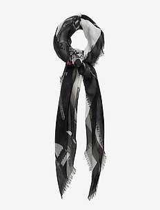 KERRY PHOTOPRINT - tørklæder - black