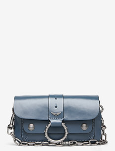 KATE WALLET SMOOTH CALFSKIN - BLUE