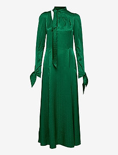 BOW JAC ZV DRESS - kveldskjoler - emerald