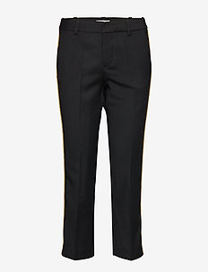 posh militaire pants bias - BLACK