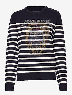 jeremia mw stripes punk strass - INK
