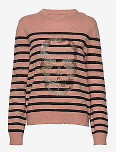jeremia mw stripes skull strass - POWDER