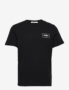 TED HC BLASON TSHIRT MC PRINT DEVANT - basic t-shirts - black
