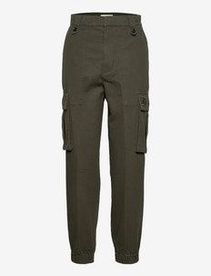PILOTE CANVAS PANT - casual bukser - khaki