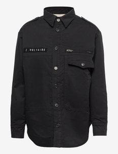 TROY POCKET OUTERWEAR - tøj - black