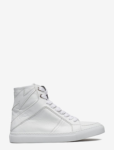 ZV1747 HIGH FLASH SHOES - høje sneakers - white