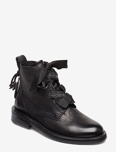LAUREEN ROMA SHOES - flade ankelstøvler - black