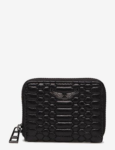 MINI ZV MAT WALLET - plånböcker - black
