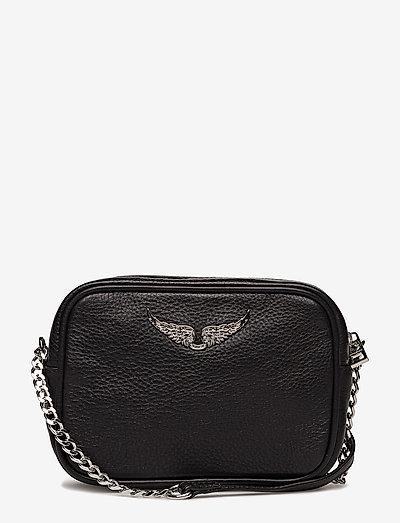 XS BOXY BAG - crossbody bags - black
