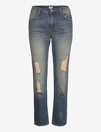 EVA USE BLEU STRETCH PERM - slim jeans - blue