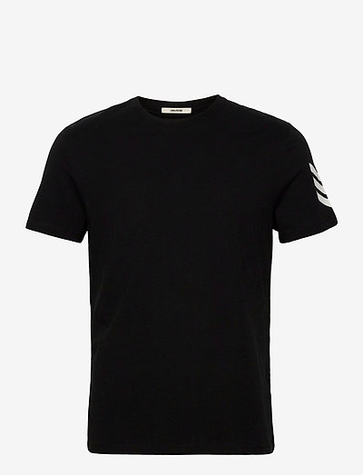 TOMMY HC ARROW TEE-SHIRT PRINT ARROW SLEEVE - basic t-shirts - black