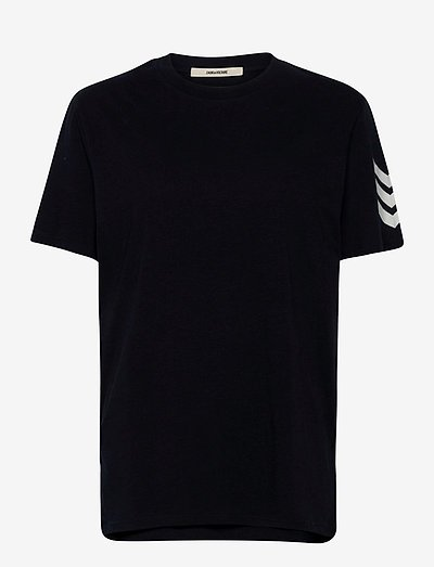 TOMMY HC ARROW TEE-SHIRT PRINT ARROW SLEEVE - basic t-shirts - navy blue
