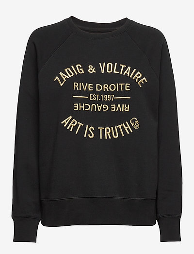 UPPER BLASON BRODE - sweatshirts & hoodies - black