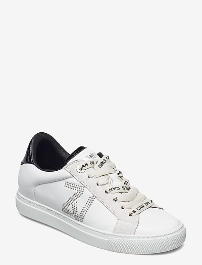 ZV1747 ZV STUDS SMOOTH CALFSKIN - lave sneakers - white