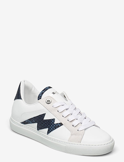 ZV1747 WILD + SMOOTH CALFSKIN - lave sneakers - blanc deep