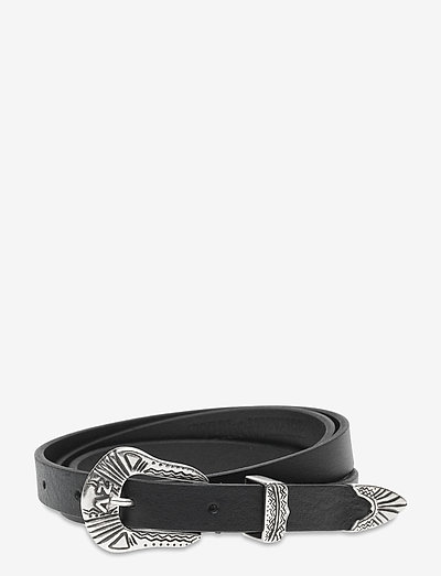 ALTA SMOOTH LEATHER - accessories - black