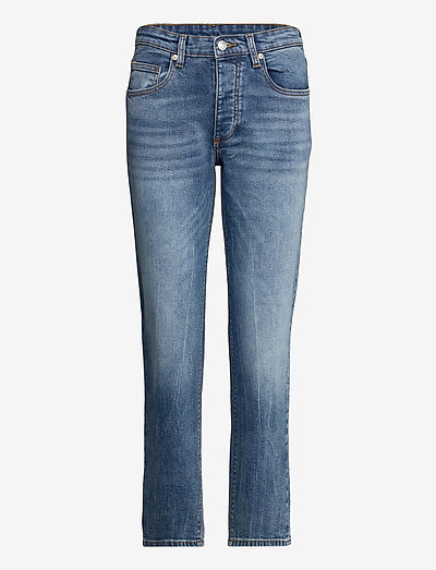 MAMMA DENIM ECO LIGHT DENIM - straight jeans - light blue