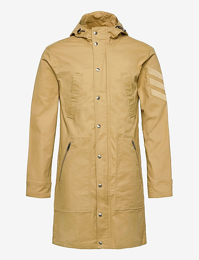 KOLT AMO BRAIDED COTTON PARKA - parkatakit - corn stalk