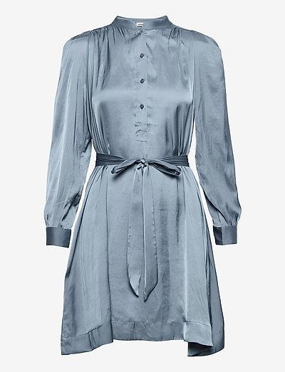 RETOUCH SATIN DRESS - hverdagskjoler - sixtine