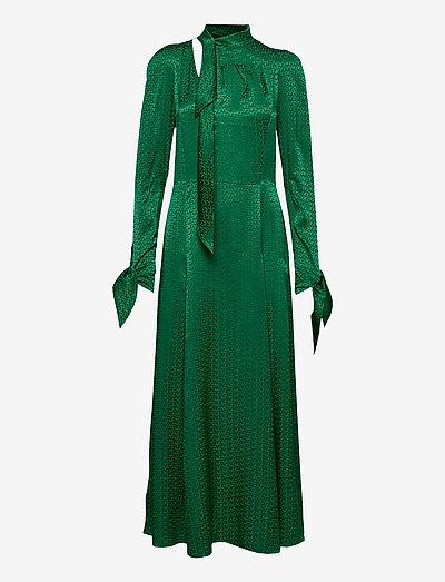 BOW JAC ZV DRESS - aftenkjoler - emerald