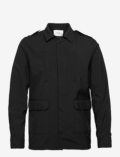 KIDO WOOL TECH BLOUSON - vindjakker - black