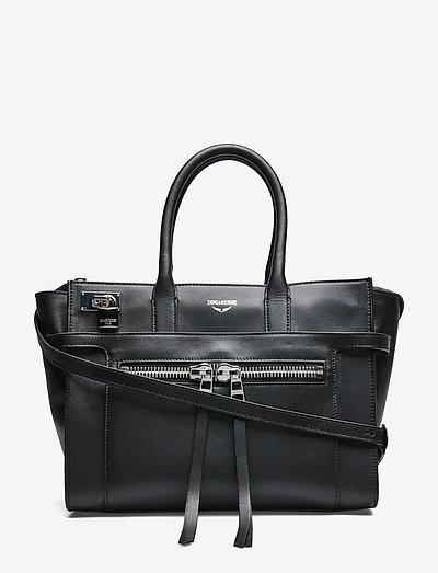 CANDIDE ZIP SMOOTH - väskor - black