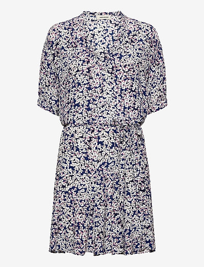 REMOVE CDC PRINT BEGONIA DRESS - sommerkjoler - bleu de chine