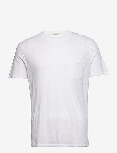 STOCKHOLM COTON FLAMME PRINT T-SHIRT - perus t-paidat - white