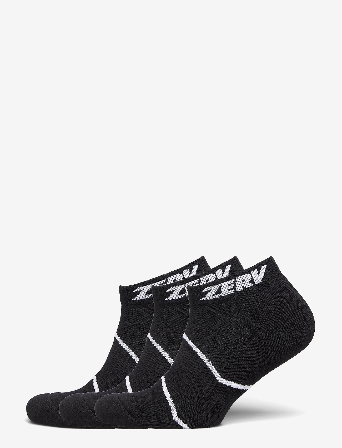 Zerv - ZERV Premium Socks Short 3-Pack - skarpetki do kostek - black - 0