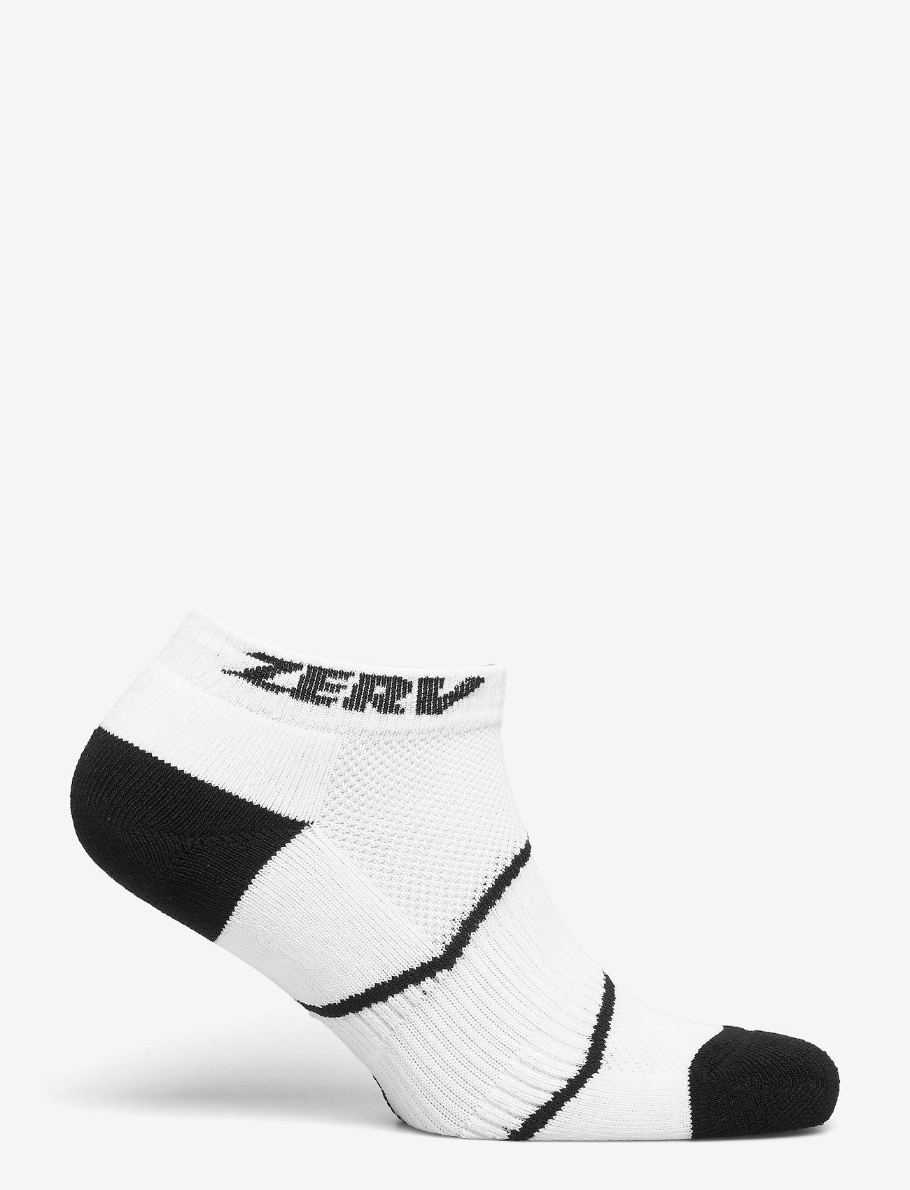 Zerv - ZERV Premium Socks Short 3-Pack - skarpetki do kostek - white - 1