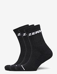 Zerv - ZERV Premium Socks 3-Pack - sokker - black - 0