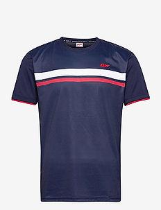 ZERV Eagle T-shirt - topy sportowe - dark navy