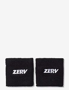 ZERV Wristband 2-Pack - svedarmbånd - black