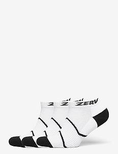 ZERV Premium Socks Short 3-Pack - skarpety za kostkę - white