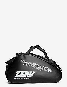ZERV Superb Padel Bag - rakečių sporto krepšiai - black