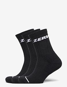 ZERV Premium Socks 3-Pack - normalne skarpetki - black